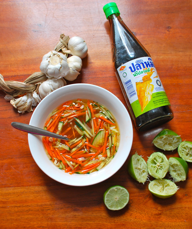 Nuoc m m la sauce poisson de base coco basilic - Zen la cuisine vietnamienne ...